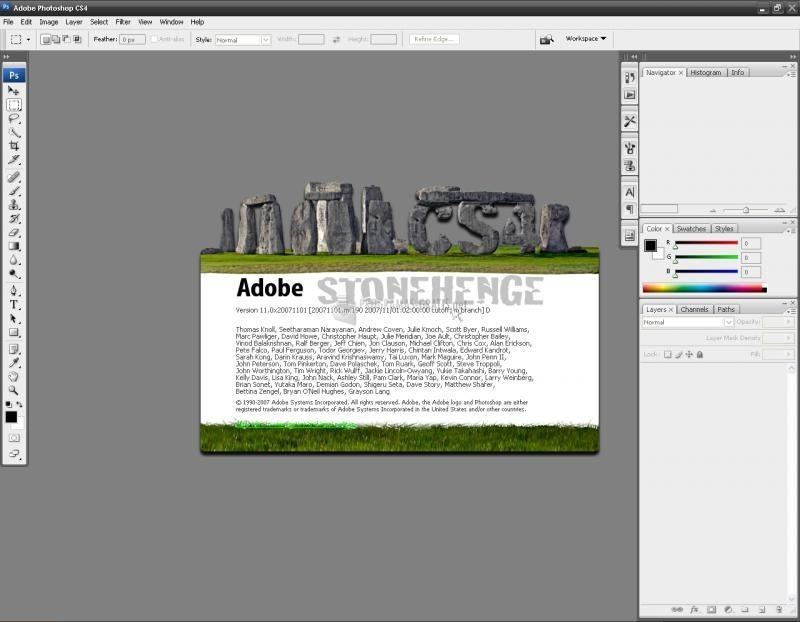 Pantallazo Adobe Photoshop CC