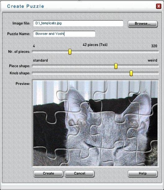 Pantallazo Jigsaw Puzzle Player