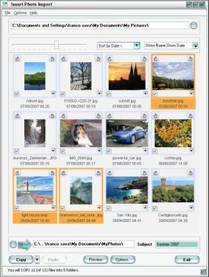 Pantallazo Smart Photo Import
