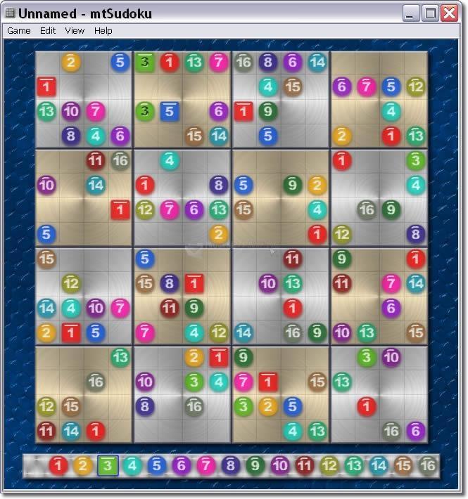 Pantallazo MaaTec Sudoku