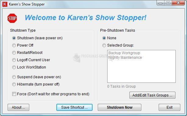 Pantallazo Karen Show Stopper