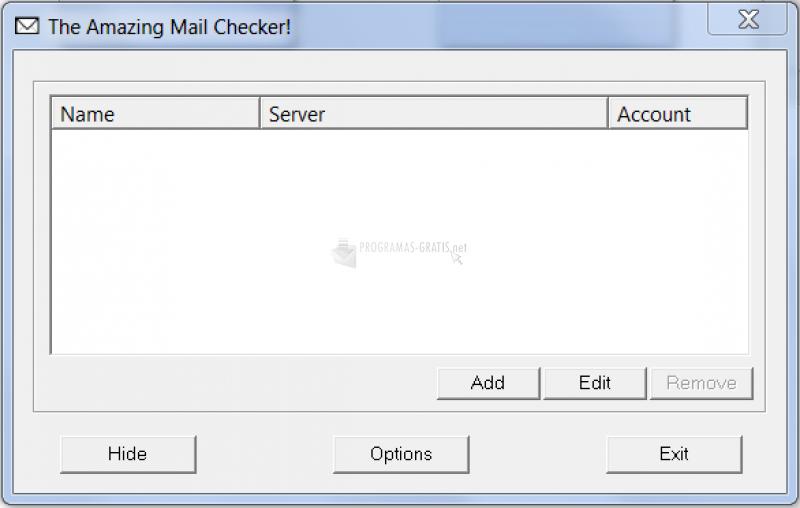Pantallazo Amazing Mail Checker