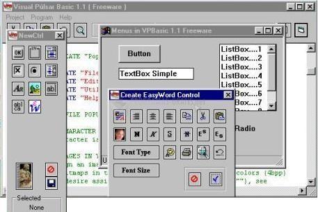Pantallazo VPBasic Compiler