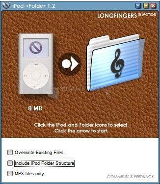 Pantallazo iPod Folder
