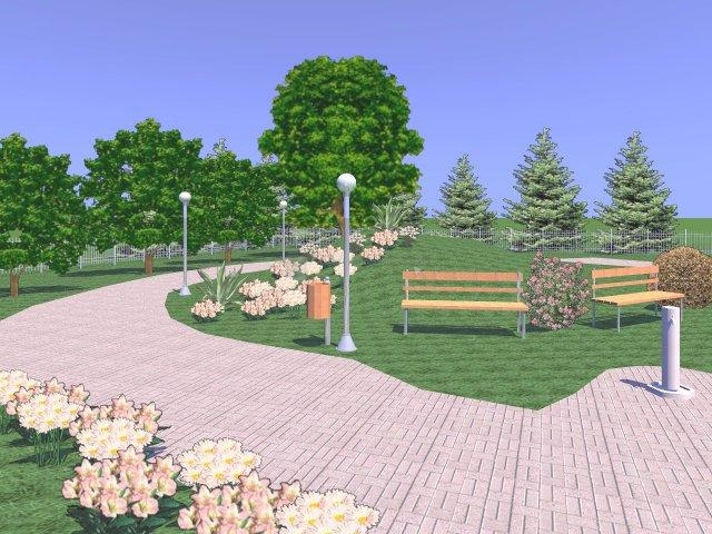 imágenes de diseño jardines y exteriores 3d 2.0.0.36
