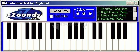 Pantallazo Desktop Keyboard