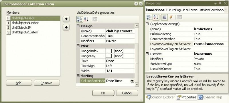 Pantallazo Utilities for .NET (U4N)