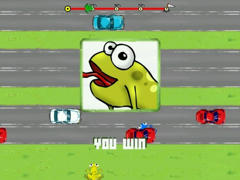 Pantallazo Pix Frogger
