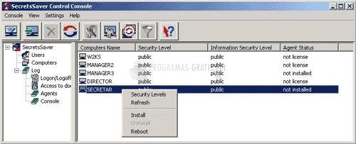 Pantallazo IPS SecrecyKeeper Beta