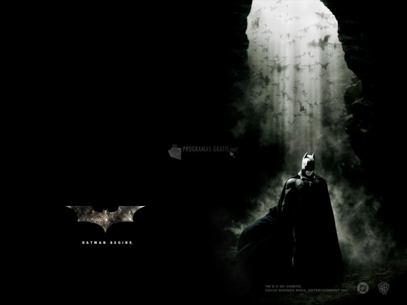 Pantallazo Batman Begins Wallpaper