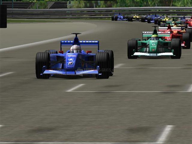 Pantallazo 3D Formula 1 Screensaver