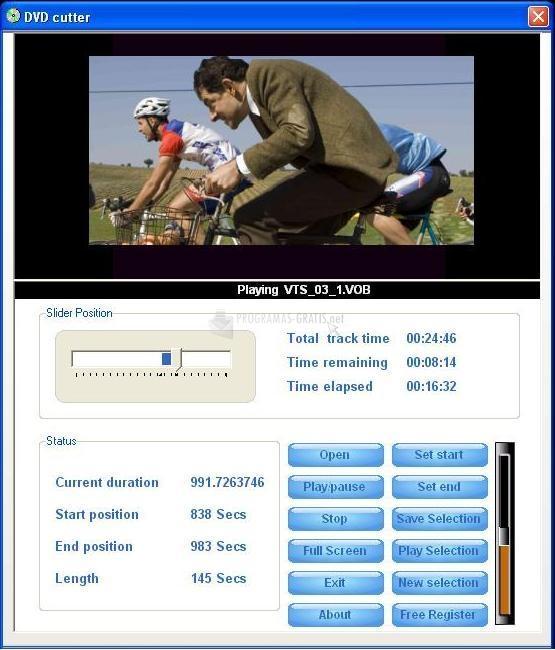 Pantallazo DVD Cutter