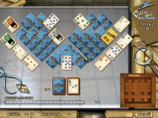 Pantallazo Jewel Quest Solitaire Deluxe
