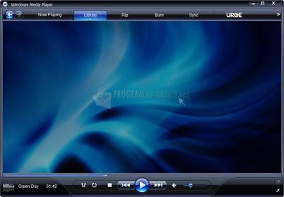 Pantallazo Windows Media Player 11 XP