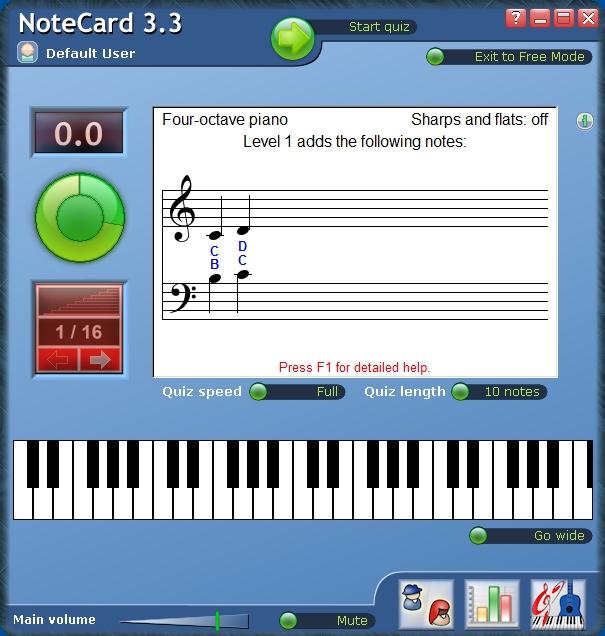 Pantallazo NoteCard