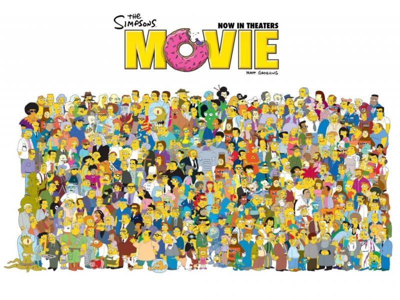 Pantallazo Simpsons La Película