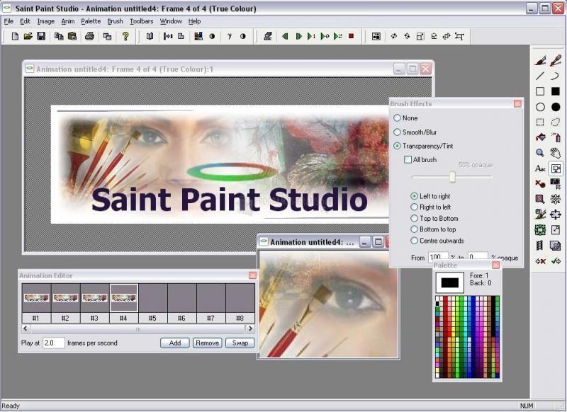 Pantallazo Saint Paint Studio