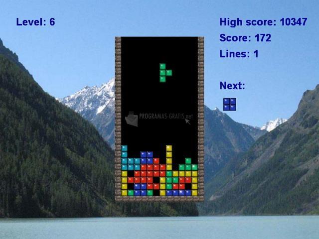 Pantallazo Classic Tetris