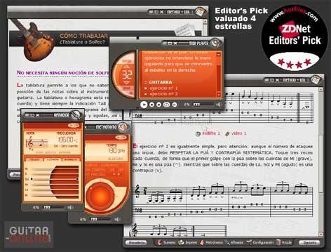 Pantallazo Método de Guitarra I