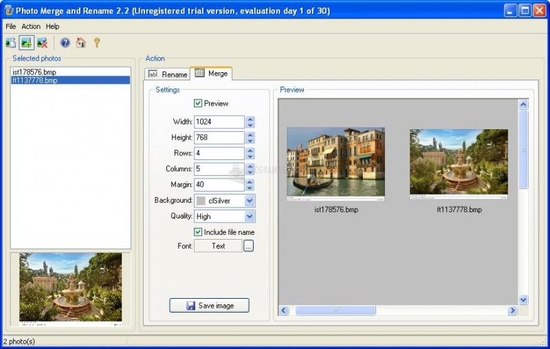 Foto Photo Merge and Rename