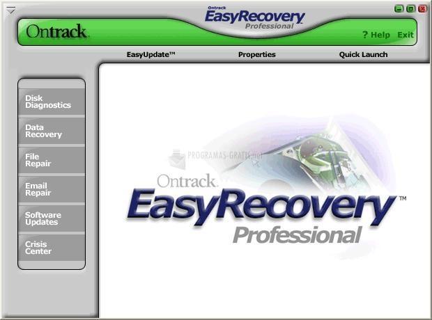 Pantallazo Ontrack EasyRecovery Pro