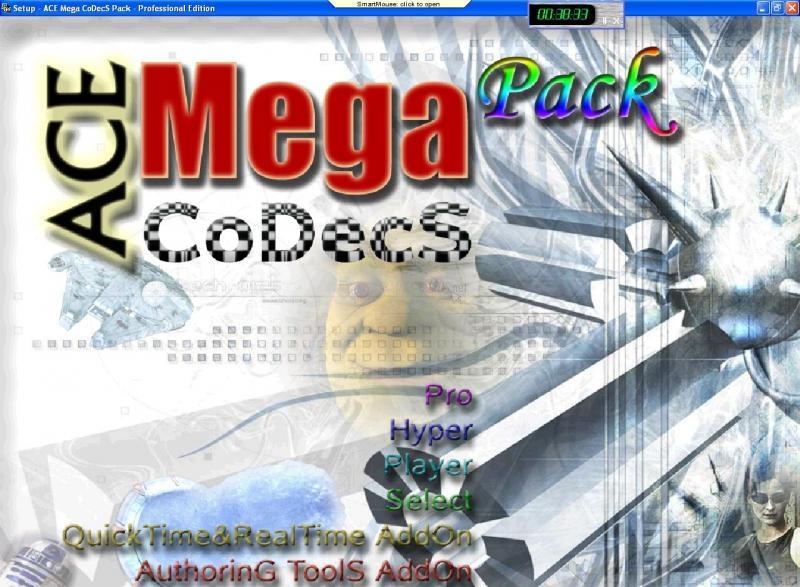 Pantallazo Ace Mega Pack Codec