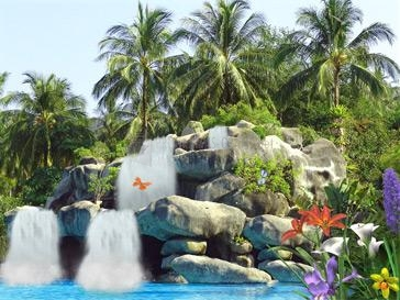 Pantallazo Tropic Waterfall