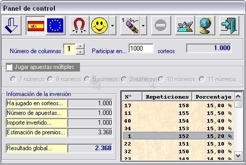Pantallazo Lotería Primitiva2004