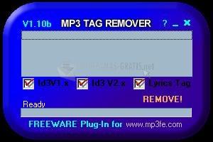 Pantallazo Mp3 TAG Remover!