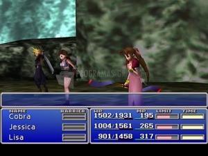 Pantallazo Final Fantasy VII XP Patch