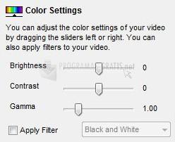 Pantallazo Debut Video Capture Software