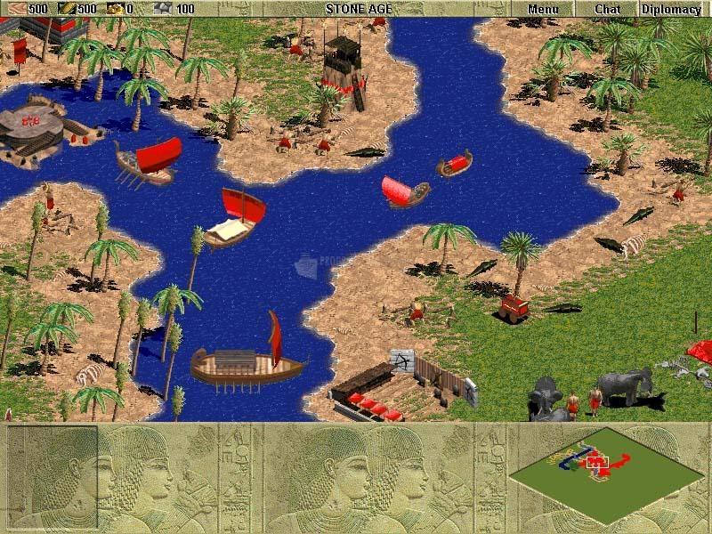 Pantallazo Parche Age of Empires
