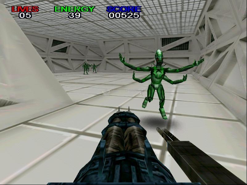 Pantallazo Alien Exterminator