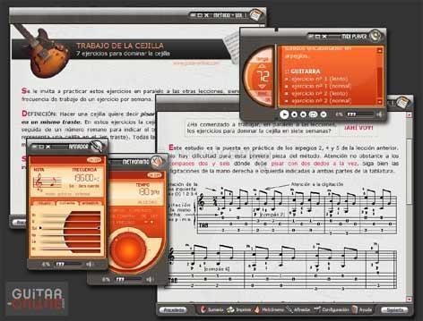 Pantallazo Método de Guitarra II