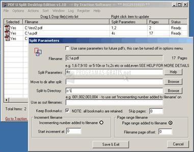 Pantallazo PDF U Split Desktop