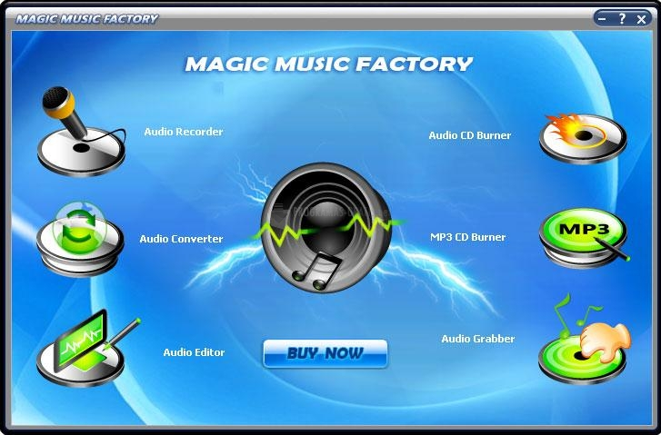 Pantallazo Magic Music Factory
