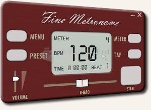 Pantallazo Fine Metronome