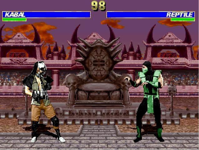 Pantallazo Mortal Kombat MUGEN