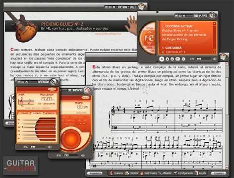 Pantallazo Método de Guitarra III