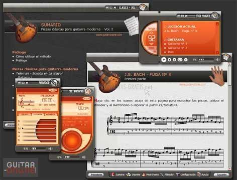 Pantallazo Piezas Clásicas para Guitarra Volumen I