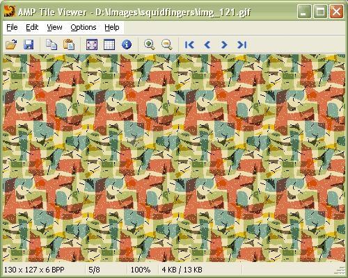 Pantallazo AMP Tile Viewer