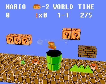 Pantallazo Emulatronia Super Mario Bros
