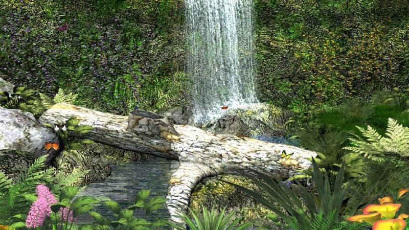 Pantallazo Amazing Waterfall