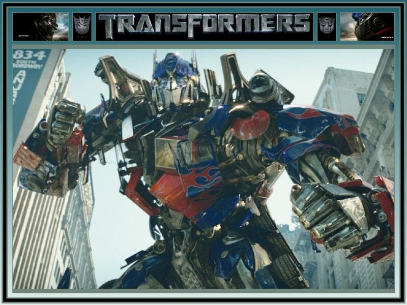 Pantallazo Transformers Screensaver