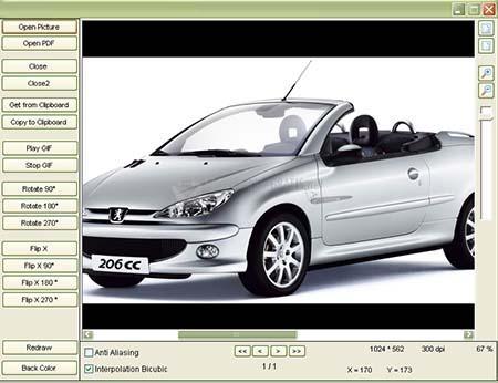 Pantallazo GdViewer Pro ActiveX
