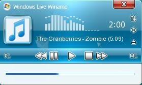 Pantallazo Windows Live Winamp