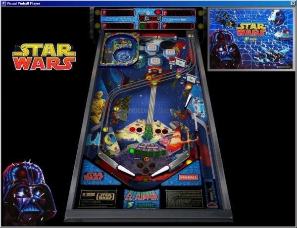 Pantallazo Visual Pinball Emulator
