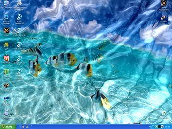 Pantallazo Watery Desktop 3D