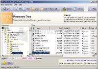 Pantallazo GetDataBack for NTFS