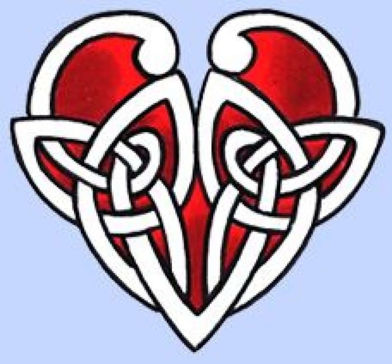 Pantallazo Celtic Heart Tattoo Designs